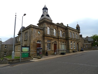 Lossie Town Hall Lossiemouth